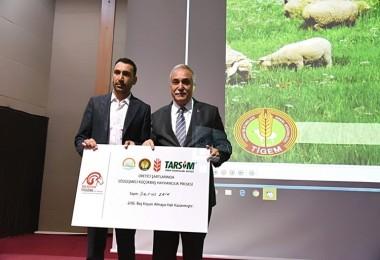 TİGEM'in Sözleşmeli Küçükbaş Hayvancılık Projesi Başladı