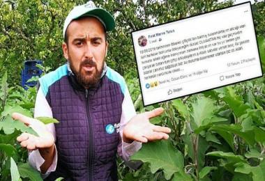 Çiftçi İflasını Sosyal Medyadan Duyurdu