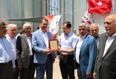 Elazığ'da Yüzde 50 Hibe Destekli Çelik Silo Tesisi Açıldı