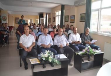 Bafra'da KKYDP 13. Etap Tarıma Dayalı Yatırımlar Hakkında Bilgilendirme Yapıldı