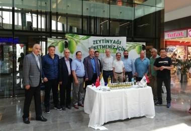 """İstanbul'da """"Aydın Zeytinyağına"""" Yoğun İlgi"""