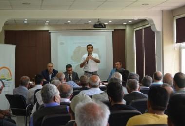 Fıstık Yetiştiricilerine Bilgilendirme Toplantısı Yapıldı
