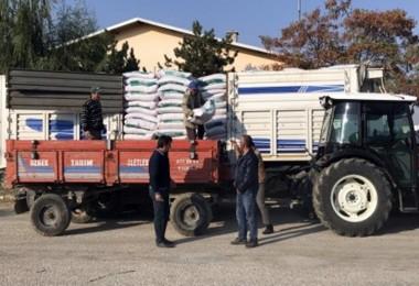 Tarım Kredi Kooperatifinden Üreticilere Hibe Buğday Tohumu