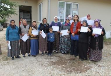 Uşak'ta Kadın Çiftçilere Yönelik Eğitimler Devam Ediyor