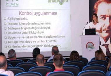 Yalova'da İyi Tarım Uygulamaları (İTU) Hizmet İçi Eğitimi Yapıldı