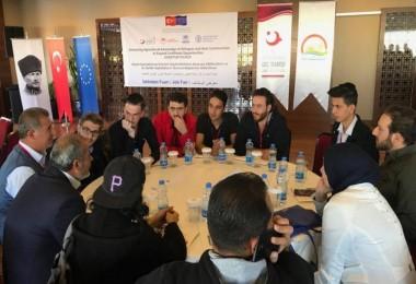 Suriyeli Mültecilere İlk İstihdam Fuarı Mersin'de Başladı