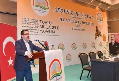 Adana'da Akdeniz Meyve Sineği İle Mücadele Çalıştayı Düzenlendi