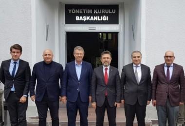 Gübretaş Genel Müdüründen Kayseri Şeker'e Ziyaret