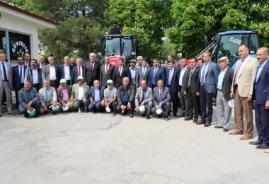Yeni Alınan Alet ve Ekipmanlar Çiftçilerin Hizmetine Sunuldu