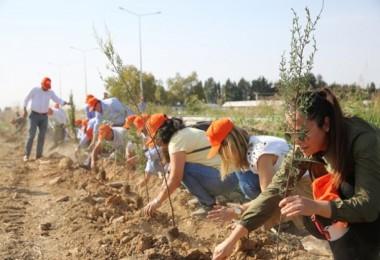 Antalya'dan Geleceğe Nefese Bin Yüz On Bir Fidan