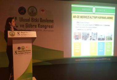 Bitki Besleme Ve Gübre Kongresine Kayseri Şeker'den Proje Desteği