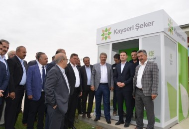 """Kayseri Şeker'den Çiftçiye  """"Dijital Kart"""""""