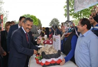 Samsun'da 'Yemeklik Kültür Mantarı Şenliği' Düzenlendi