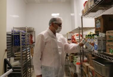 Erzincan'da Kantin ve Yemekhanelerde Gıda Denetimi Devam Ediyor