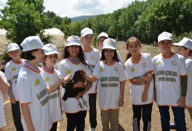 Karabük'te Lider Çocuk Tarım Kampı Bitti