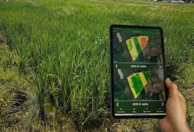 Çiftçiler tarlalarını cepten takip edebilecek