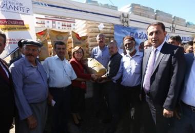 Büyükşehir'den tarım ve hayvancılığa büyük destek