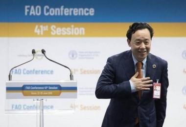 FAO'nun yeni Genel Direktörü Çin Halk Cumhuriyeti'nden Qu Dongyu oldu