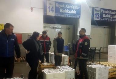 Samsun'da Su Ürünleri Denetimleri Aralıksız Devam Ediyor