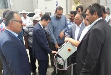 Üreticilere Yüzde 70 Hibeli Ceviz Makinesi Dağıltıldı