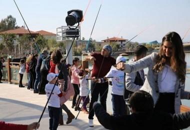 Çocuklar Expo'da Balık Tutmanın Keyfini Yaşadı