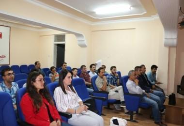 Erzincan'da Hayvan Hastalıkları İle Mücadele Toplantısı Düzenlendi