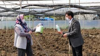 İl Müdürü Parıldar Yalova'lı Kadın Çiftçilerin gününü kutladı