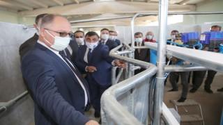Sivas'ta tarım ve hayvancılığı desteklemek için tesis kuruldu