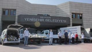 Yenişehir Belediyesi 20 ton narenciye dağıttı