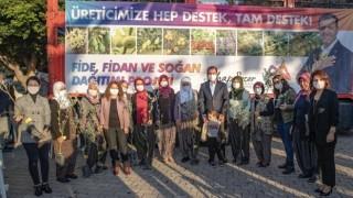 Mersin Büyükşehir'den Üreticilere Binlerce Zeytin Fidanı Desteği