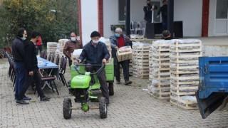 Sermayecik'li Çiftçilere 115 Bin Adet Çilek Fidesi Dağıtıldı
