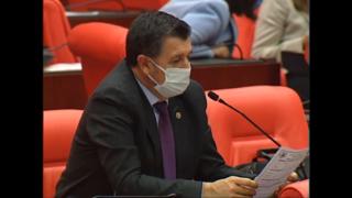 Gaytancıoğlu Meclis'te Çiftçinin Mektubunu Okudu