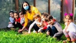 Mezitlili Çocukların Minik Elleri Toprakla Buluştu