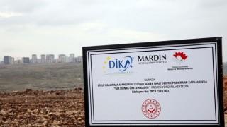 Artuklu'da 15 Lavanta Bahçesi İçin Tarım Alanı Oluşturuldu