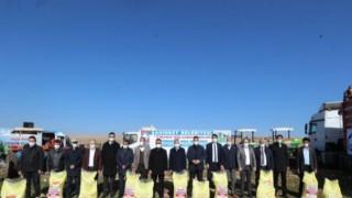 Gaziantep'te çiftçilere gübre desteği