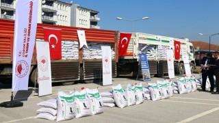 Çiftçilere 238 ton sertifikalı Nohut Tohumu dağıtımı yapıldı