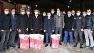 Göynük'te 20 Bin Dekarlık Yağlık Ayçiçeği Tohumu Dağıtıldı