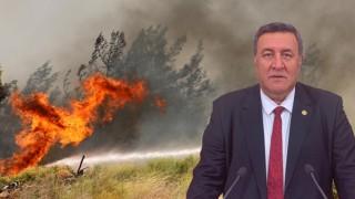 """Gürer: """"Orman yangınlarında artış devam ediyor"""""""