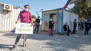 Orhanlı Köylüleri Pandemi Yasaklarına Rağmen Yapılmak İstenen Enerji Santrali Toplantısına İsyan Etti