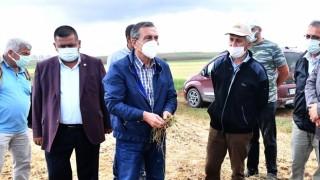 Başkan Ataç Emekleri Zayi Olan Üreticileri Yalnız Bırakmadı