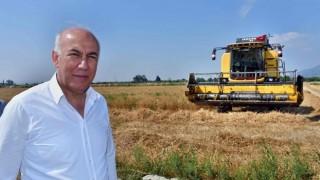 Başkan Tuncel'den Buğday Hasadı