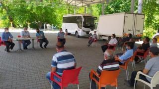 Alabalık yetiştiricilerine yönelik kuraklığa karşı bilgilendirme toplantısı yapıldı