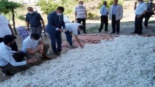 İl Müdürü Gün İpek Böceği Üreticileriyle Bir Araya Geldi