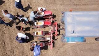 Tarsus Belediyesi'nin Yerli Tohum Atağı Soya Fasulyesi Ekimi İle Devam Ediyor
