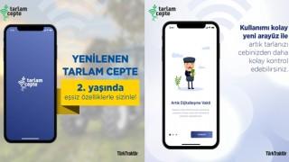 TürkTraktör'ün çiftçilere sunduğu Tarlam Cepte mobil uygulaması yenilendi
