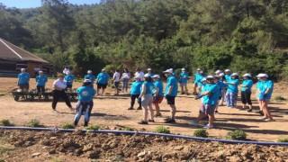 Bodrum'da 'Gençlik Tarım Kampı' Başladı