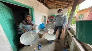 Üretici Kadınlar Köylerinde Ziyaret Ediliyor