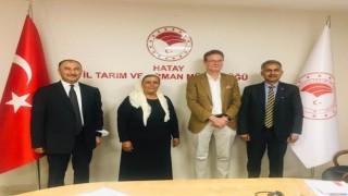 Uygulamalı Çiftçi Okulları çalıştayı AB Büyükelçisini Hatay'da ağırladı