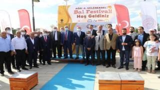 Ağrı'da 4. Geleneksel Bal festivali başladı