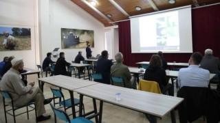 Çiftçi Evi'nde zeytin yetiştiriciliği eğitimi